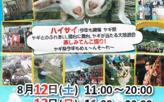 第2回もとぶ田空ヤギ祭 開催